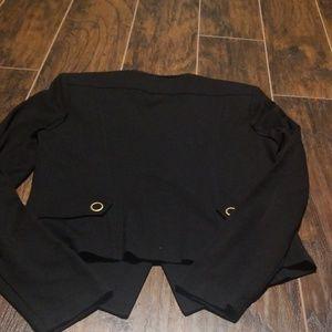 CAbi Jackets & Coats - Cabi black blazer size small #615 brass buttons